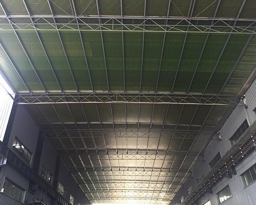 彩钢棚结构改造雨蓬