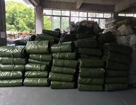 军绿色防水篷布