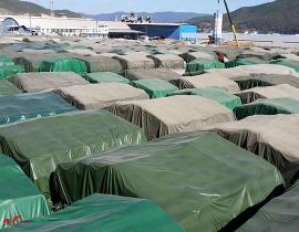 港口货场篷布